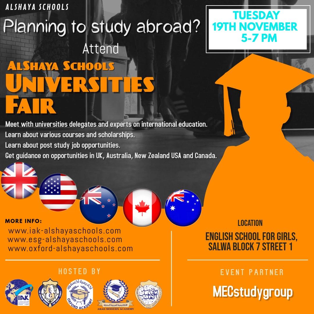 Universities Fair